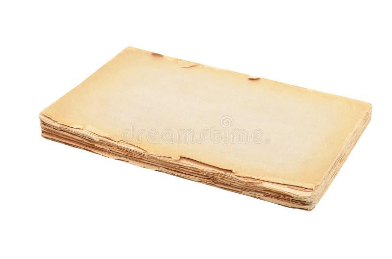 Haveloos antiek boek stock fotografie