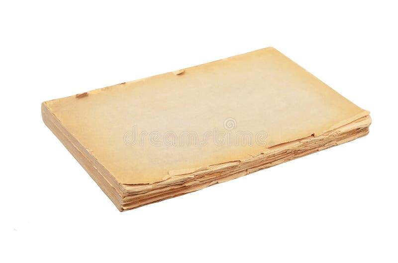 Haveloos antiek boek stock afbeelding