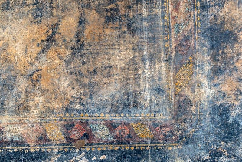 Haveloze fresko in Pompei, Italië royalty-vrije stock fotografie