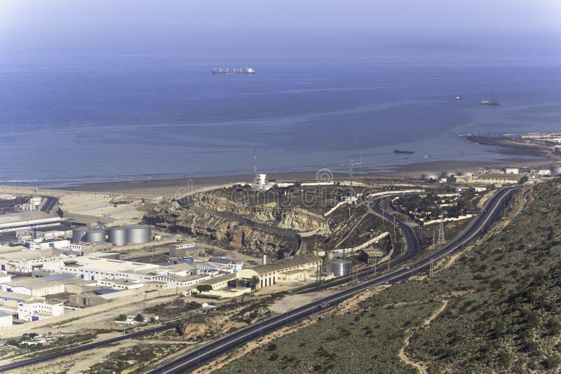 haven in Agadir royalty-vrije stock foto's