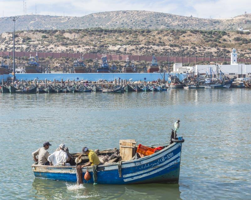 Haven in Agadir stock fotografie