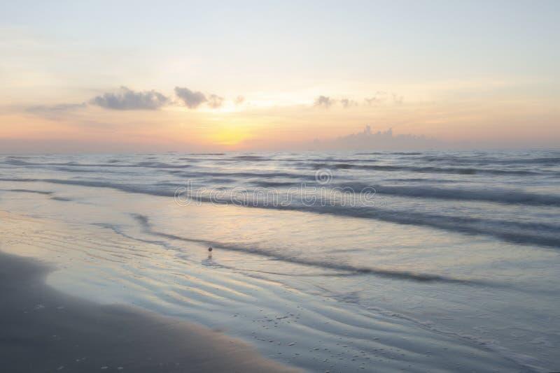Haven Aransas Texas Sunrise stock foto