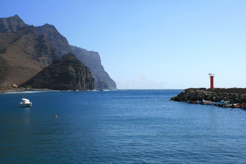 Haven in Gran Canaria eiland royalty-vrije stock afbeelding