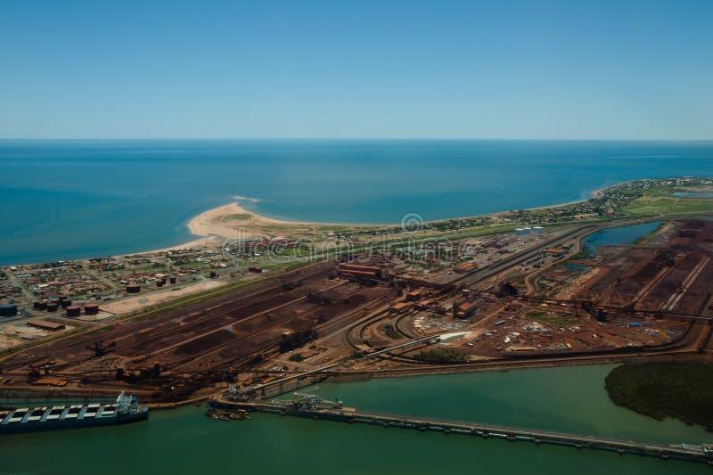 Haven Hedland - Australië stock afbeelding