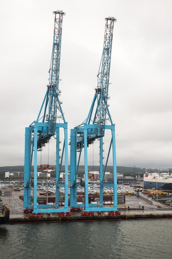 Haven Kiel Duitsland stock fotografie