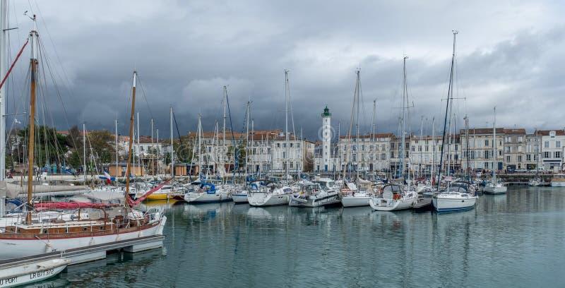 Haven La Rochelle stock afbeeldingen