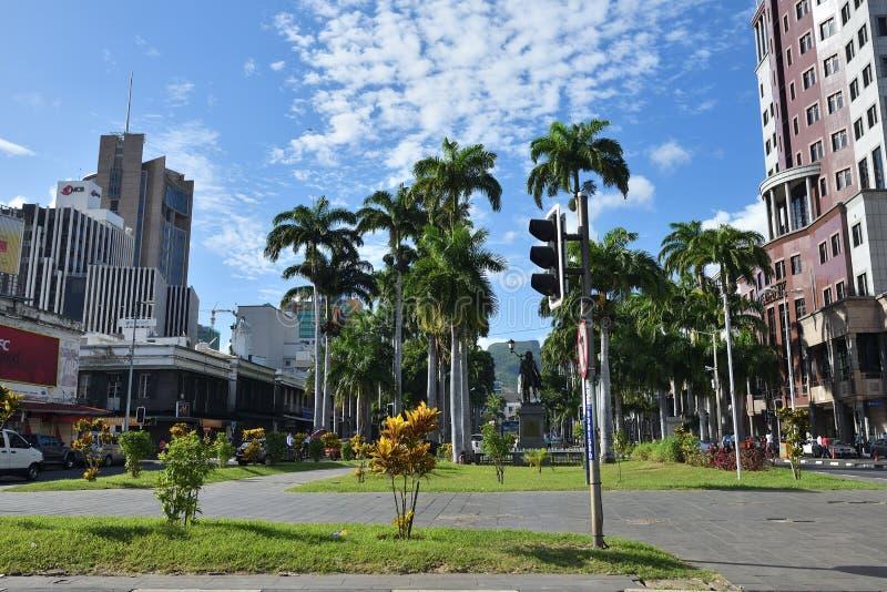 Haven Louis, Mauritius stock afbeeldingen