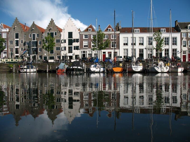 Haven Middelburg royalty-vrije stock afbeeldingen