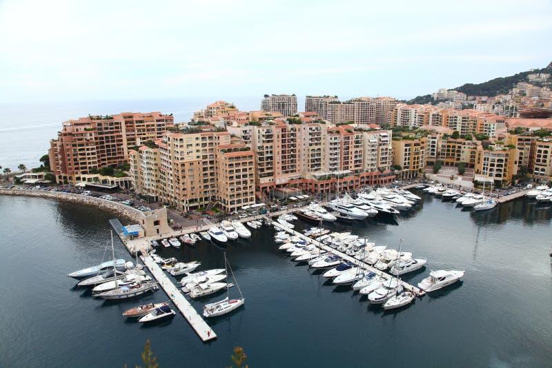 Haven in Monaco royalty-vrije stock afbeeldingen