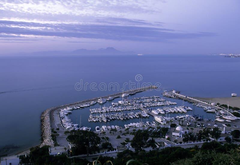 Haven Tunesië royalty-vrije stock foto's
