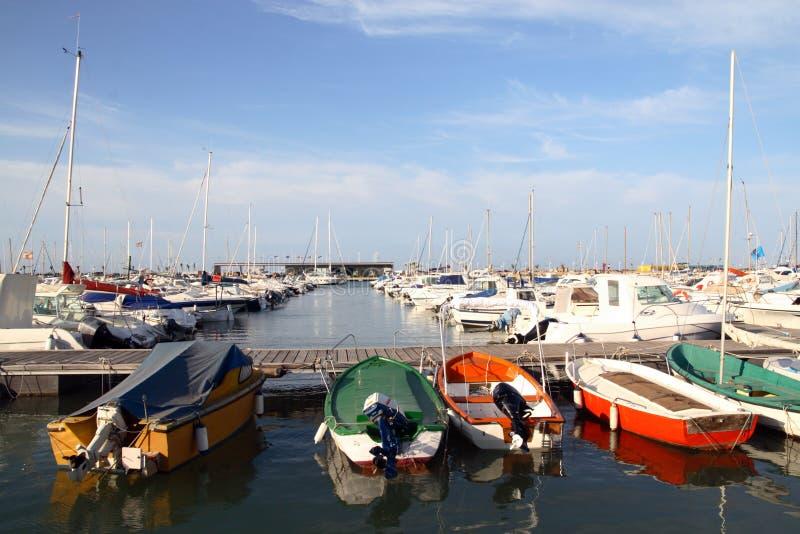 Haven van Denia stock fotografie