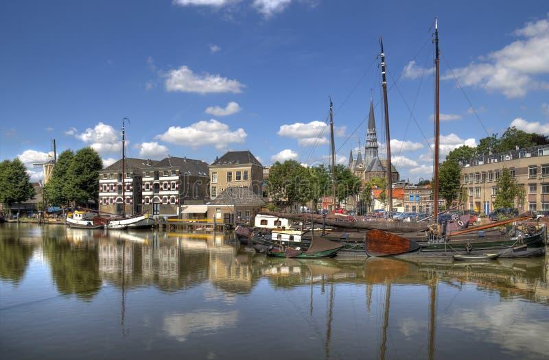 Haven van Gouda royalty-vrije stock afbeelding