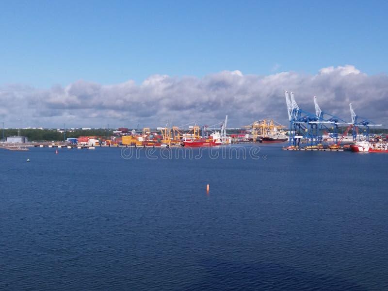 Haven van Helsinki royalty-vrije stock afbeeldingen
