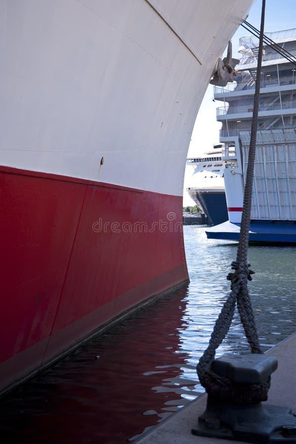 Haven van Kiel royalty-vrije stock afbeeldingen