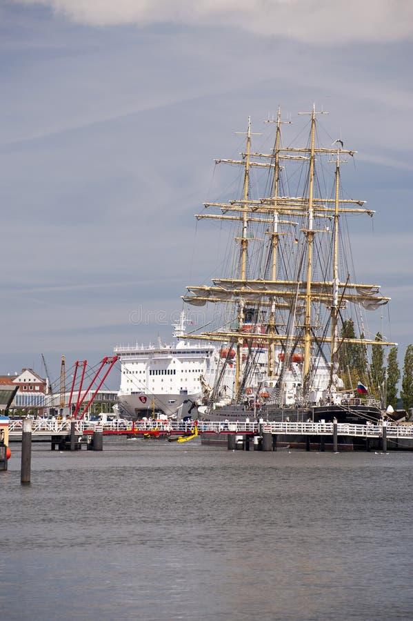 Haven van Kiel royalty-vrije stock afbeelding