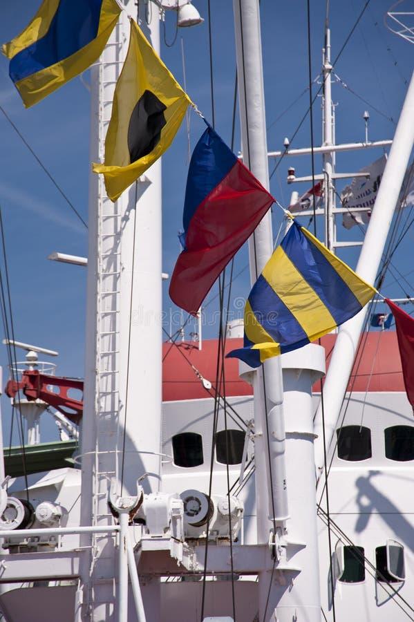 Haven van Kiel stock afbeeldingen