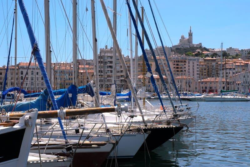 Haven van Marseille royalty-vrije stock fotografie