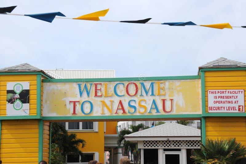 Haven van Nassau in de Bahamas stock fotografie