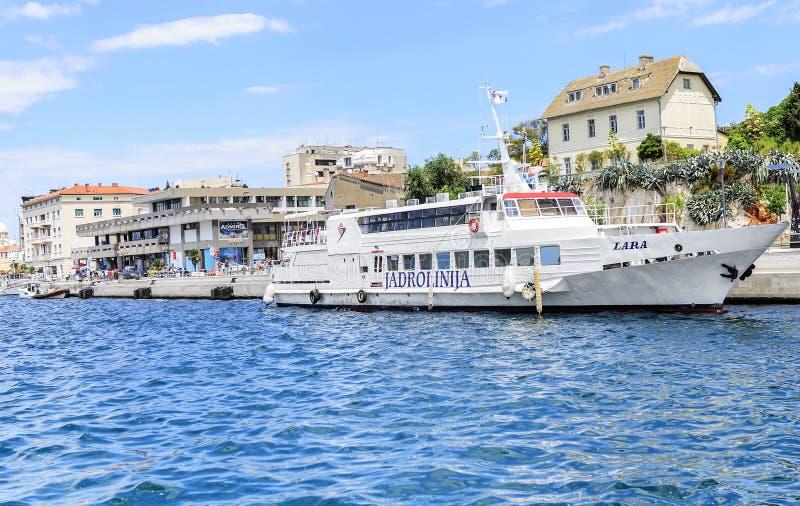 Haven van Sibenik, Kroatië royalty-vrije stock fotografie