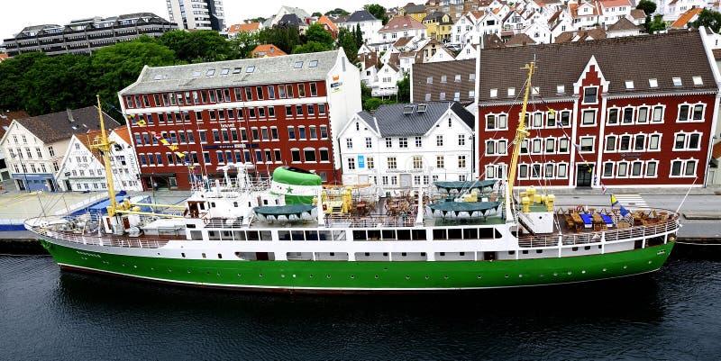 Haven van Stavanger stock foto's