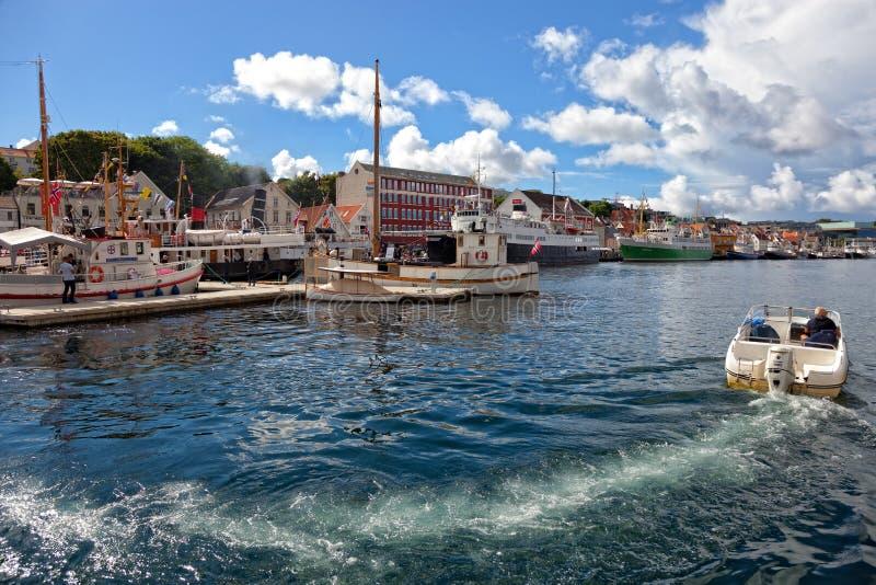 Haven van Stavanger royalty-vrije stock fotografie