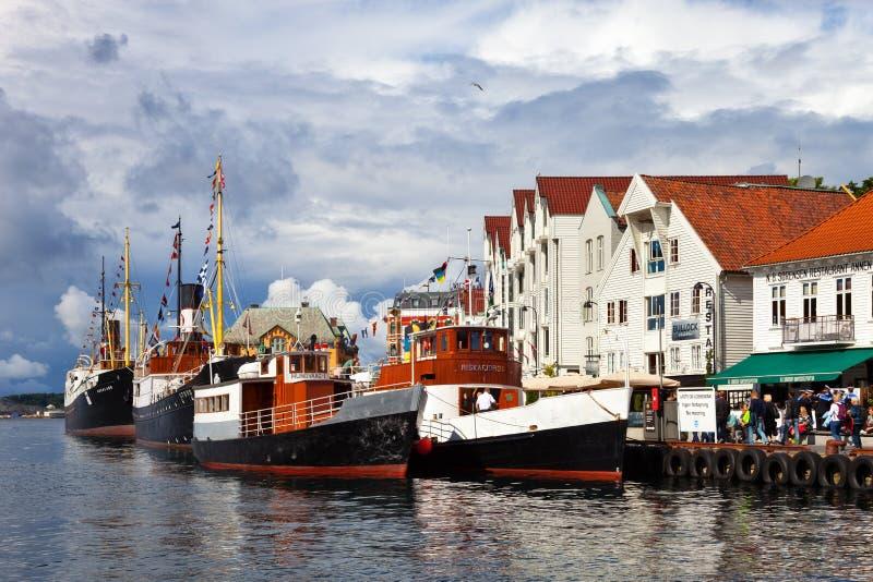 Haven van Stavanger royalty-vrije stock foto