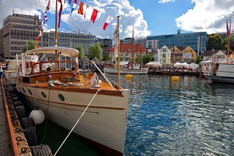 Haven van Stavanger stock foto
