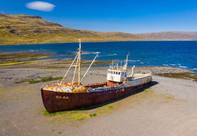 Haveri för skepp BA64 royaltyfria bilder