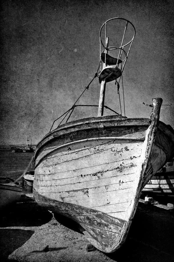 haveri för tappning för fartygbild gammalt royaltyfri fotografi