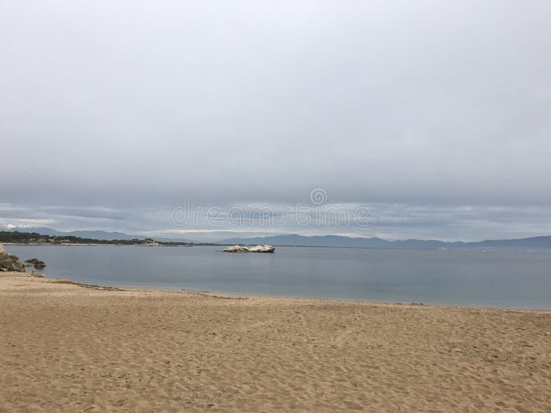 Havet kopplar av arkivbild
