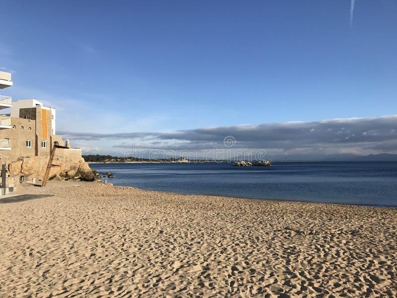 Havet kopplar av fotografering för bildbyråer