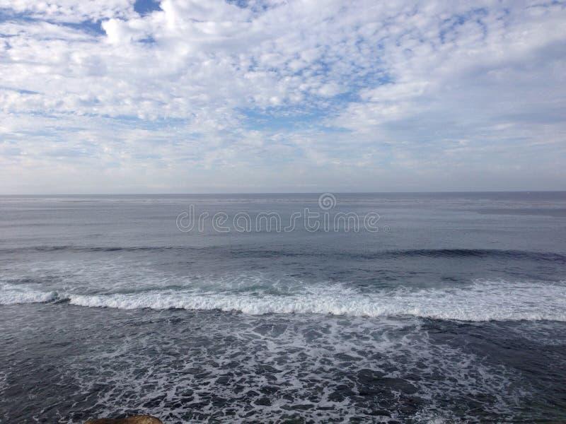 Havet möter havet royaltyfri foto