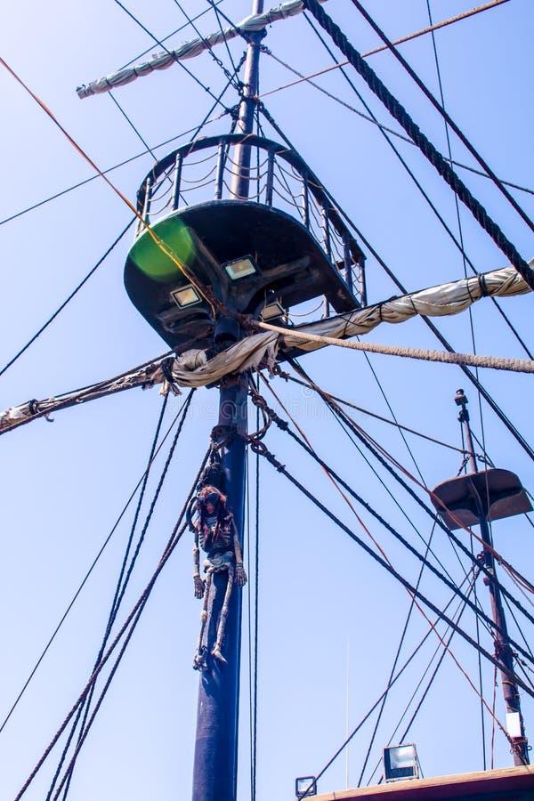 Havet piratkopierar Ahoy fotografering för bildbyråer