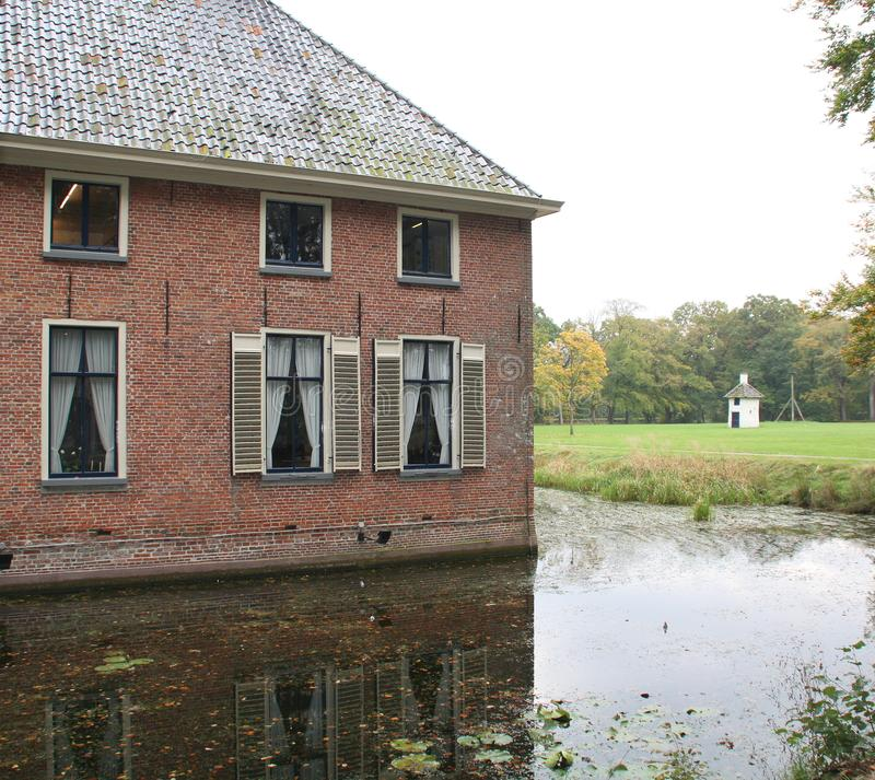 Havezate Mensinge in Roden netherlands stockfotografie