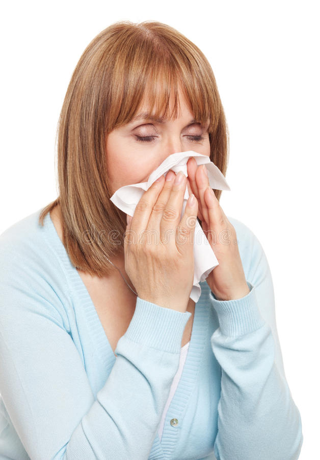 Download Having a cold stock image. Image of casual, sneeze, fever - 24422175