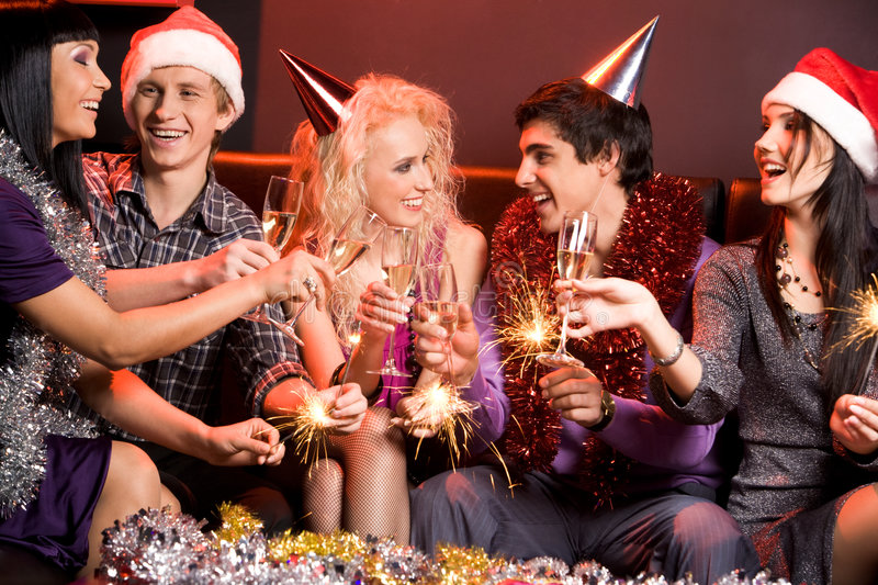 Download Having fun stock photo. Image of champagne, cheer, female - 7335096