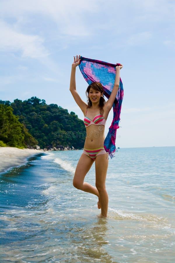 Free Having Fun At The Beach Royalty Free Stock Photos - 4414158