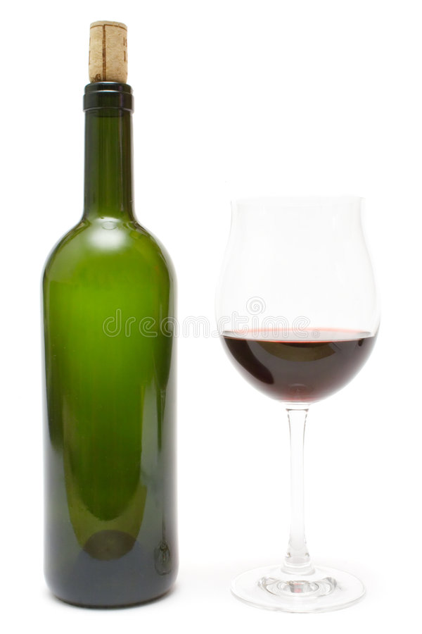 Having a Glass of Wine royalty free stock photos
