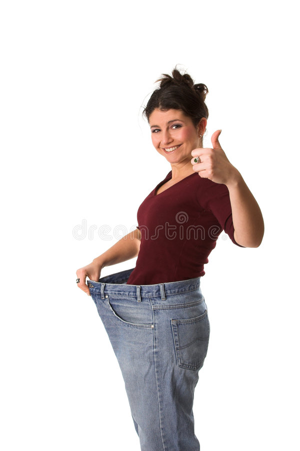Download Having lost weight stock photo. Image of thumbs, successful - 1629154
