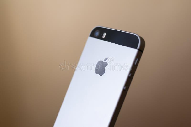 Apple iPhone SE stock photo