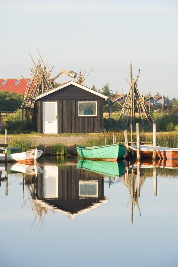 Havn em Dinamarca imagens de stock royalty free