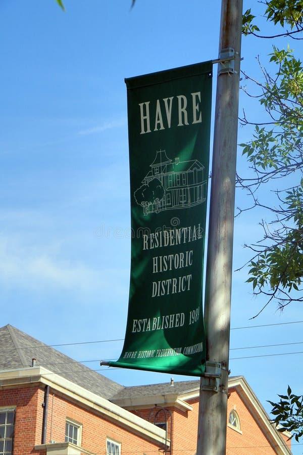 Havre Montana 7 imagen de archivo libre de regalías