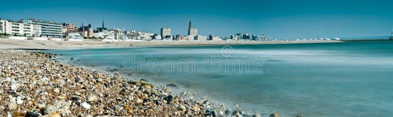 Havre-Stadt in Normandie - Frankreich lizenzfreies stockfoto