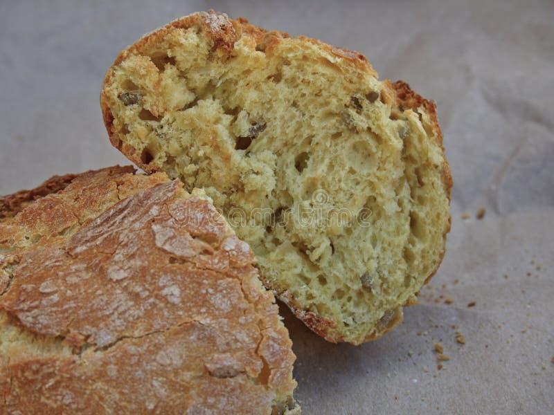 Havrebröd med frö arkivfoton