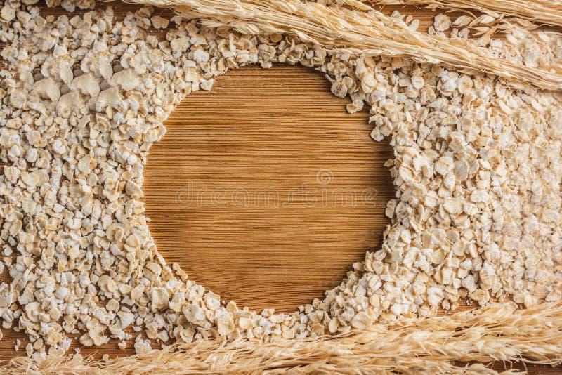 Havren flagar sund mat arkivbild