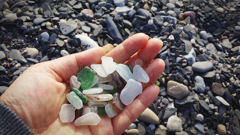 Havsexponeringsglas arkivbilder