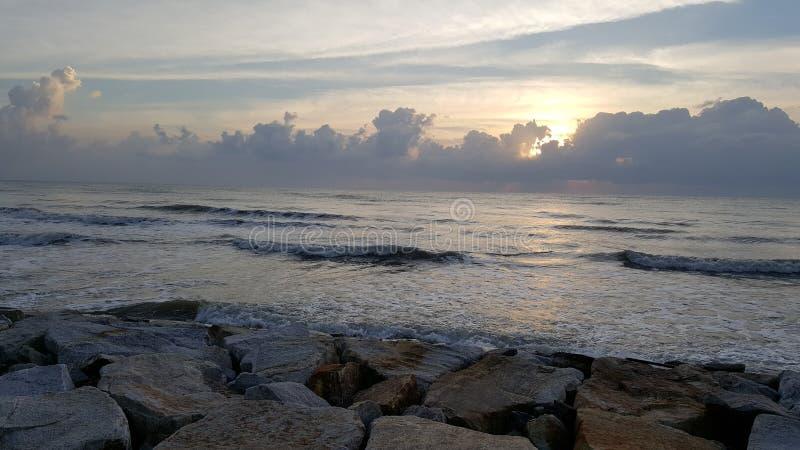 Havshuahinmorgon fotografering för bildbyråer