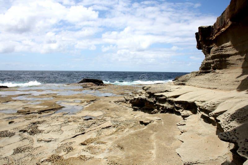 Havsikt @ Terrigal, Australien fotografering för bildbyråer