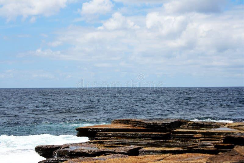 Havsikt @ Terrigal, Australien arkivbilder