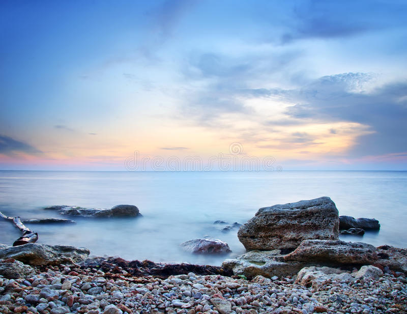 Download Havskust fotografering för bildbyråer. Bild av sceniskt - 37348037
